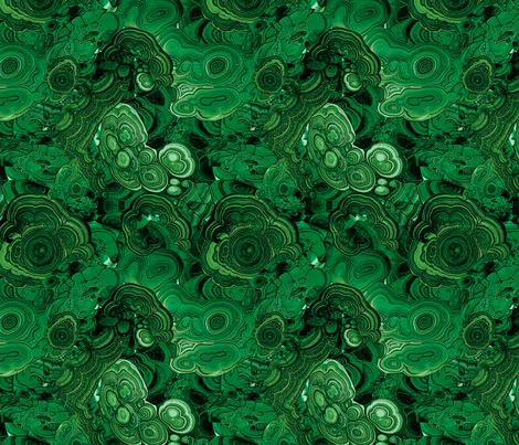 Malachite fabric by ravynka on Spoonflower - custom fabric
