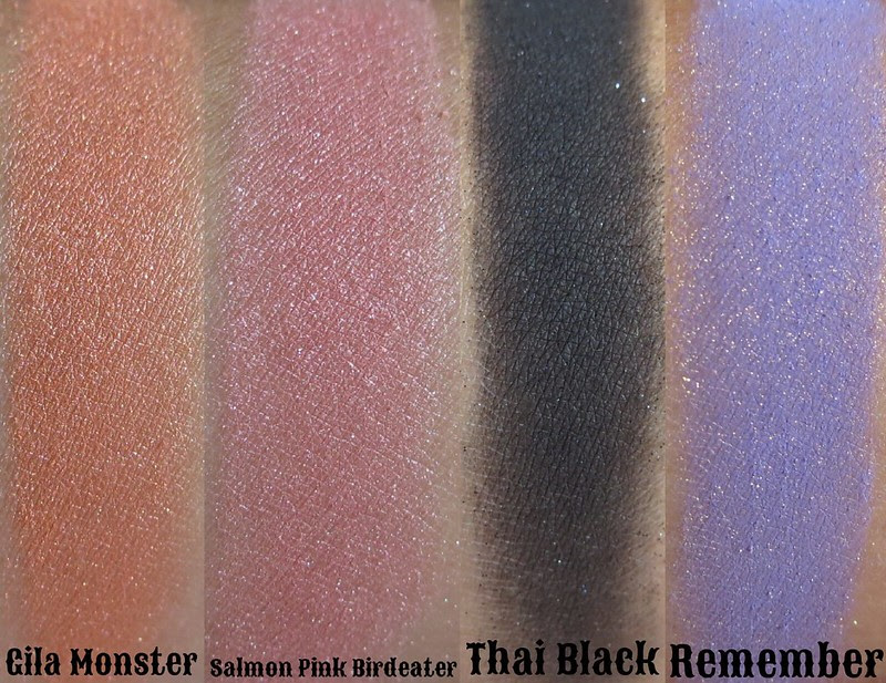 Venomous Cosmetics main collection and January color of the month