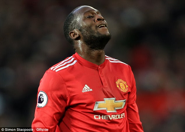 So did Romelu Lukaku - as the duo failed to click together up front during the first half