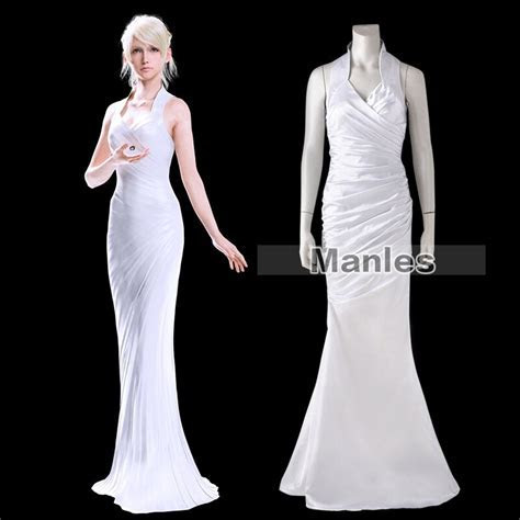 Lunafreya Nox Fleuret Dress Final Fantasy XV Costume