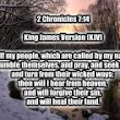 National Prayer Second Chronicles Chapter 7 Verse 14
