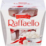 Ferrero Confetteria Raffaello Almond Coconut Treat - 5.3 oz box