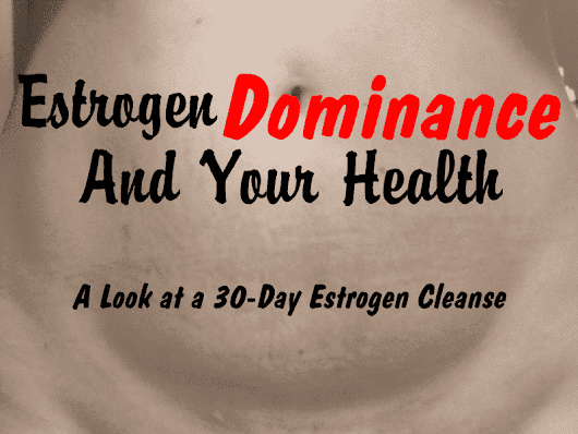 Estrogen Dominance and Your Health - The Not So Modern Housewife