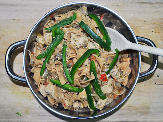 Very High Protein Pork and Pear Stir Fry – Approx 40g Protein Per Serving