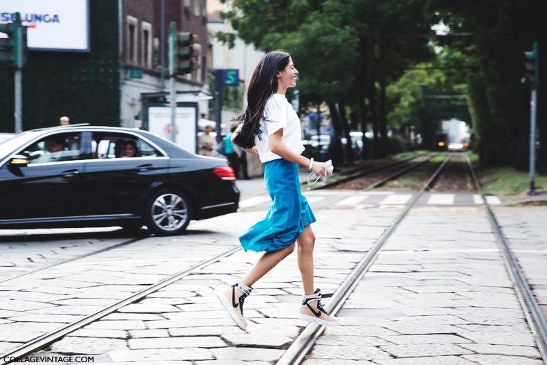 New_York_Fashion_Week_Spring_Summer_15-NYFW-Street_Style-Nike_Sneakers-Midi_Skirt-Gilda-