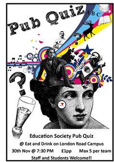 pta quiz night poster - Google Search | Quiz night | Pinterest ...