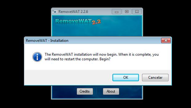 Removendo o WAT (Foto: Reprodução/Helito Bijora)