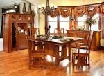 Santa Cruz Mission Style Quartersawn Oak Dining Set | Amish ...