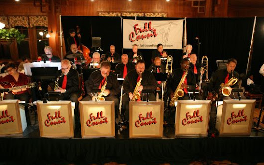 hire Big Bands for weddings in NJ, Roselle Park big Bands |The Full Count Big Band