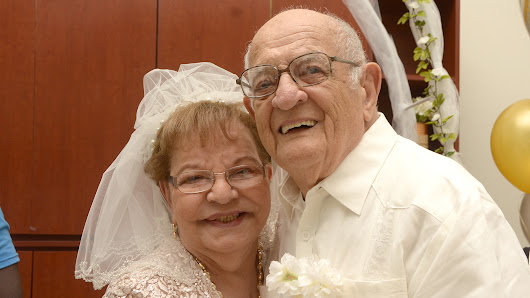 At 80, first-time bride weds 95-year-old widower 'worth waiting for'