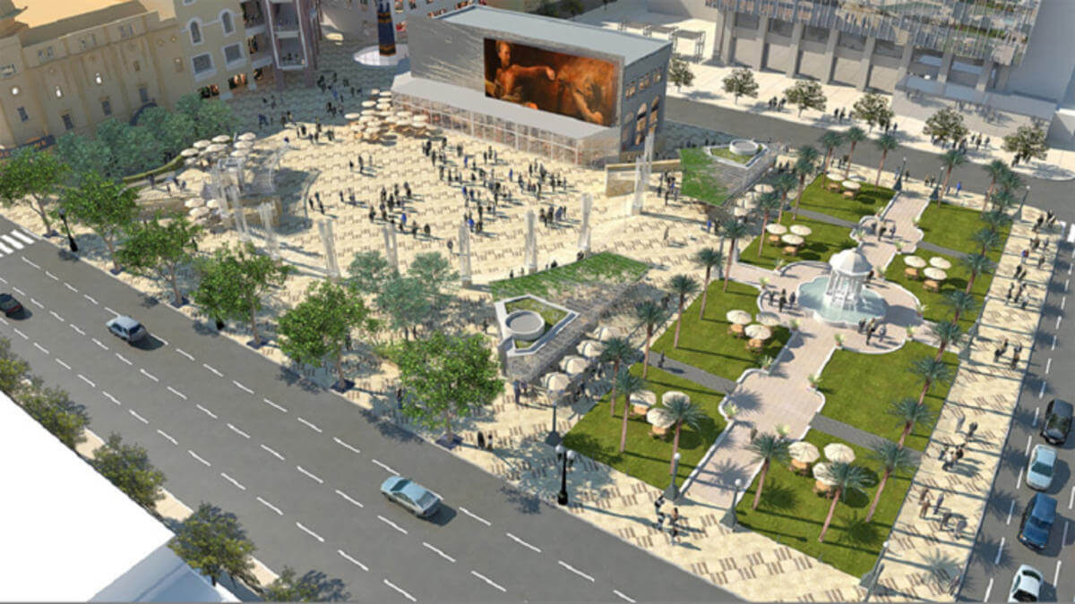 Horton Plaza rendering 457