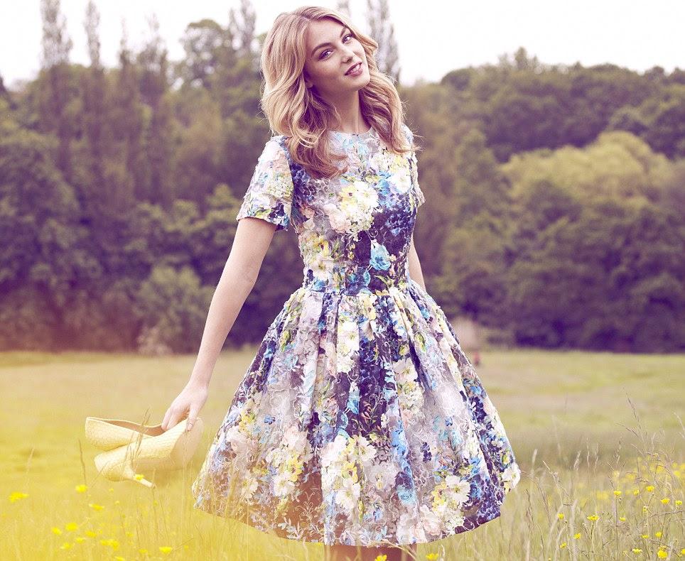 Dress, £299, MGSM at Fenwick, 020 7629 9161