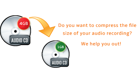 Do you want to compress the file size of your audio recording? We help you out!
