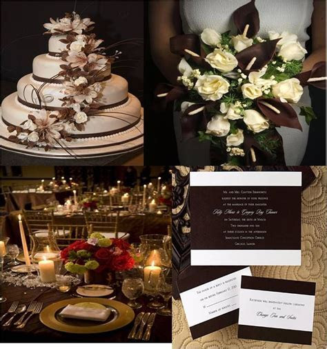 17 Best images about Chocolate Brown Wedding on Pinterest