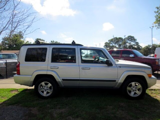 Used 2008 Jeep Commander Sport 2WD for Sale in Pensacola FL 32502 Bill Haven Cars Inc