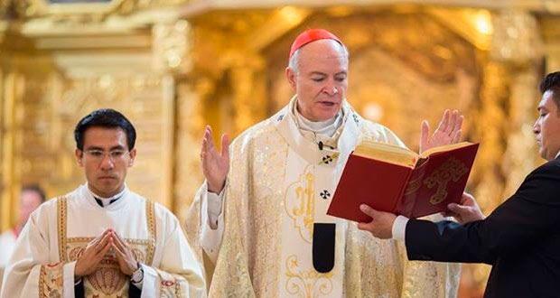Carlos Aguilar, nuevo arzobispo primado de México