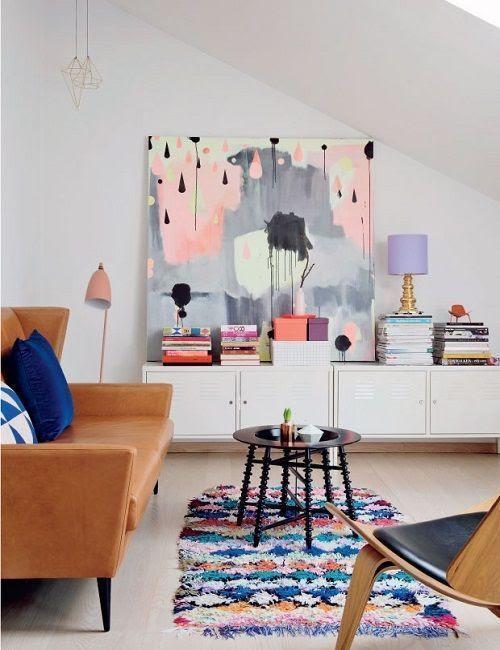 Sala de la casa de Nynne en Copenhague