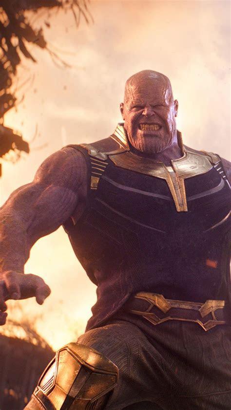 Wallpaper Avengers: Infinity War, Thanos, Josh Brolin, 4k