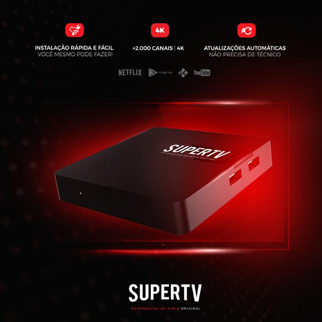 SUPERTV !! VIDEO TUTORIAL DE INSTALAÇÃO COMPLETA DO MAIS NOVO TV BOX DO MERCADO CONFIRAM - 08/12/2017