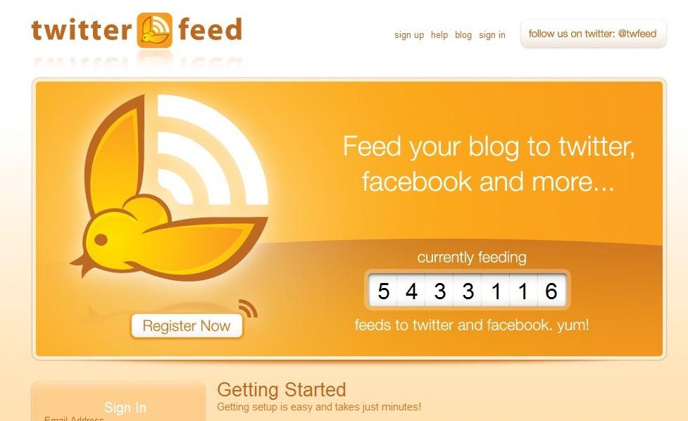 Cara Membuat Postingan Blog ke Twitter Otomatis