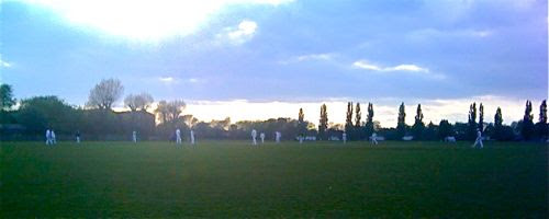 The sun sets on Dodgers v MoJ 6 May 2010
