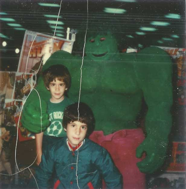 the hulk mall appearance