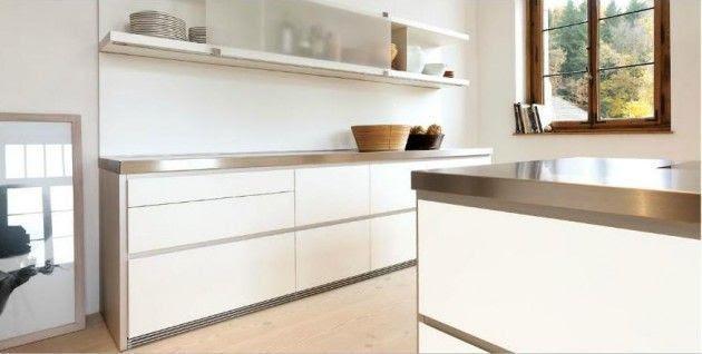 Diseños de Cocinas Blancas 7 Atractivos Diseños de Cocinas Blancas