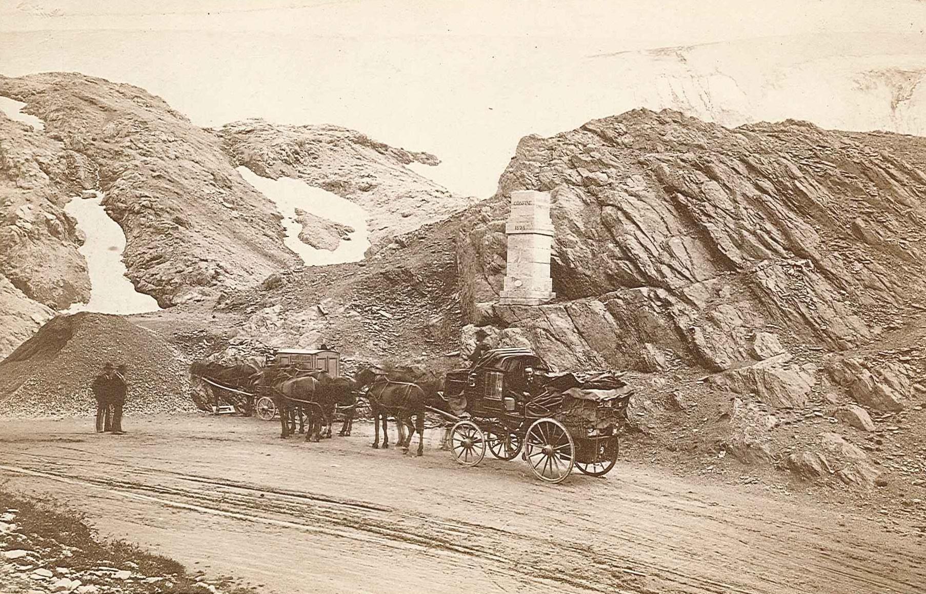 Passo dello Stelvio nel 1881