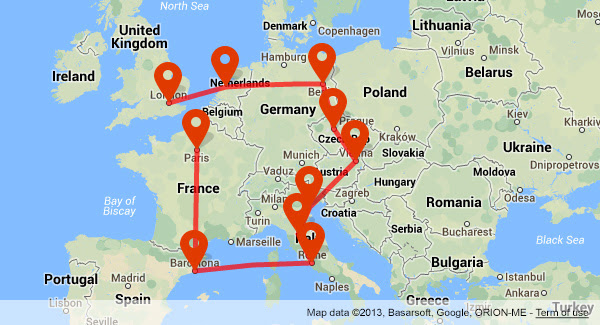 Plan A Trip To Europe Slubne Suknie Info