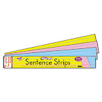 TREND ENTERPRISES INC. WIPE-OFF SENTENCE STRIPS MULTICOLOR (Set of 3)