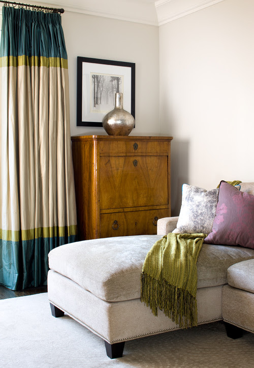 window treatments drapes with banding