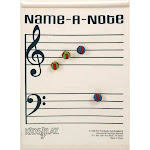 Rhythm Band Instruments RB451 Name-A Note Game