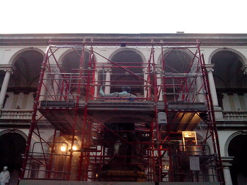 Trasparenza di lavori in Brera by Ylbert Durishti