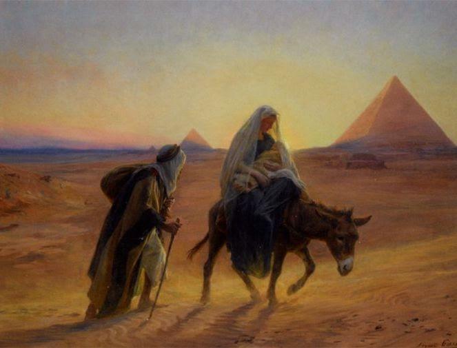 La Huida A Egipto De Jesus Maria Y Jose Primeros Cristianos