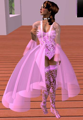 60L Sunday Inzane's creations Serafina lingerie