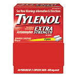 Tylenol Extra Strength Caplets - 100 ct, Pack of 5