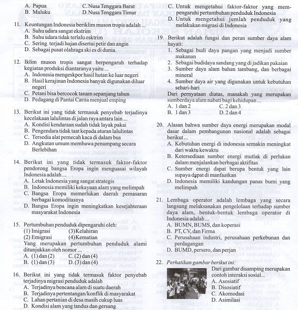 Contoh Soal Dan Jawaban Bahasa Indonesia Kelas 7 Semester…