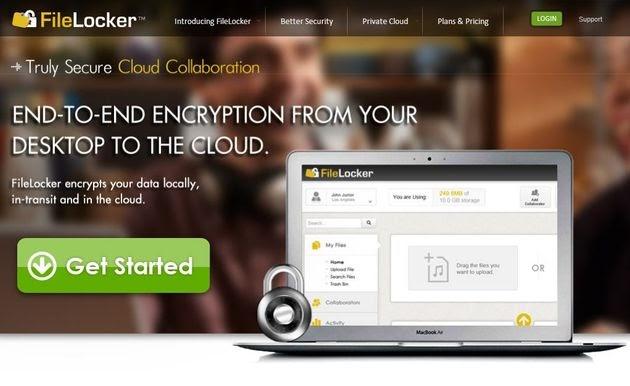 FileLocker, 5 Gb gratuitos de almacenamiento online con triple sistema de cifrado