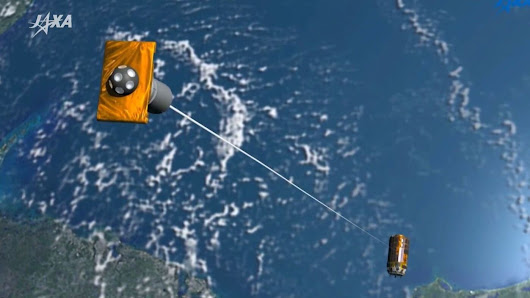 Japan Sends Long Electric Whip Into Orbit, To Tame Space Junk