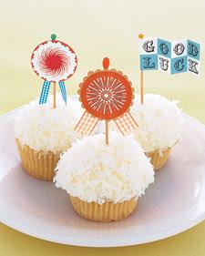 Clip-Art Craft: Cupcake Flags