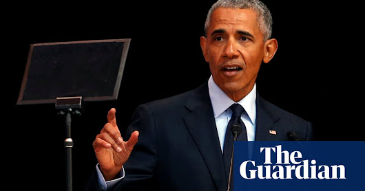 Obama criticises 'strongman politics' in coded attack on Trump | US news | The Guardian