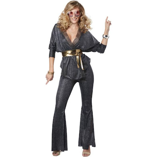 California Costumes 276658 Disco Dazzler Womens Plus Costume
