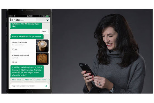Starbucks Unveils Voice Ordering for iPhone App and Amazon's Talking Alexa Speakers  - WSJ