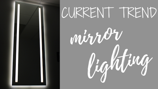 DIY Mirror Lighting