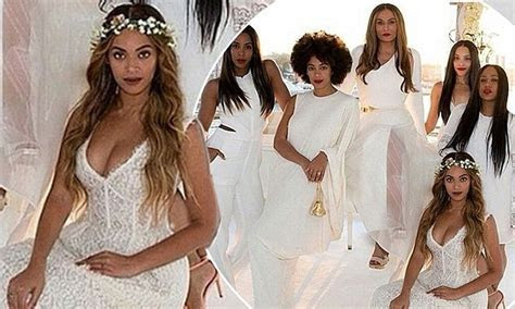 Beyonce's bridesmaid dress from mother Tina Knowles