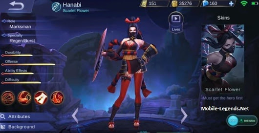 Hanabi Features | Mobile Legends
