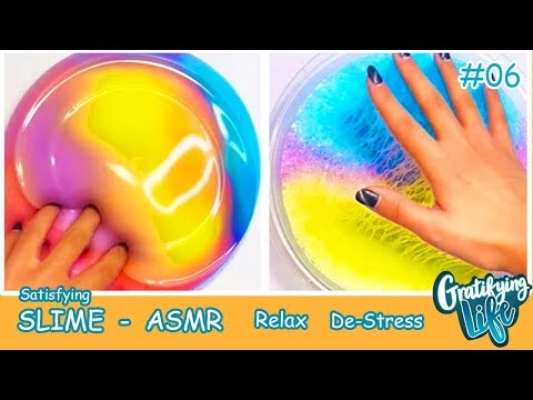 Satisfying and Relaxing Slime Videos | ASMR | Oddly Satisfying video #6