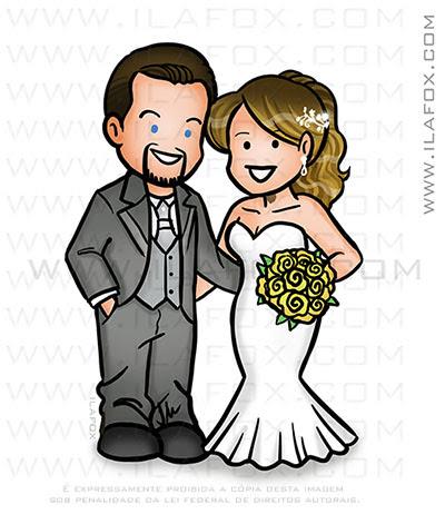 caricatura fofinha, mini caricatura, caricatura casal, by ila fox
