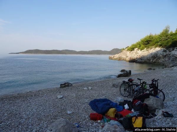 """""""Tour d'Europe à vélo 2015"""", Episode 7 (Croatie, Monténégro)"""