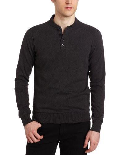 ben sherman sweater sale ben sherman men 39 s 4 button henley sweater. Black Bedroom Furniture Sets. Home Design Ideas